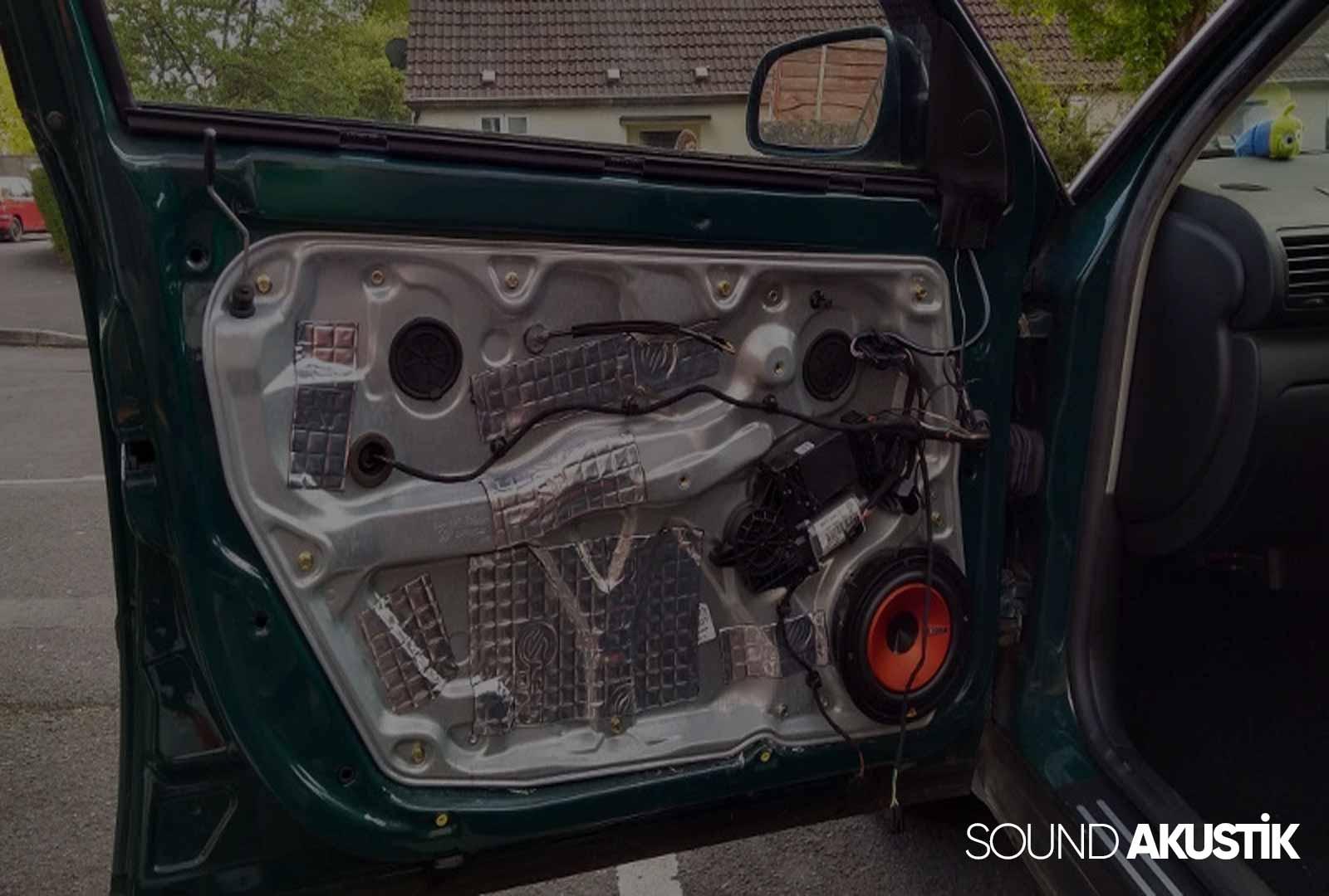 araç içi ses yalıtımı