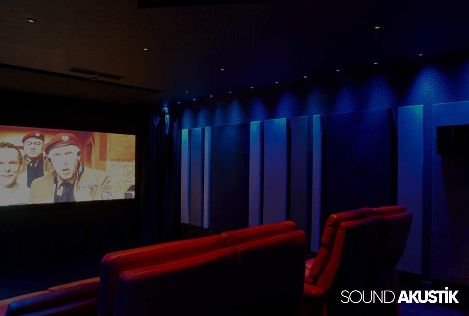 ev sineması ses yalıtımı