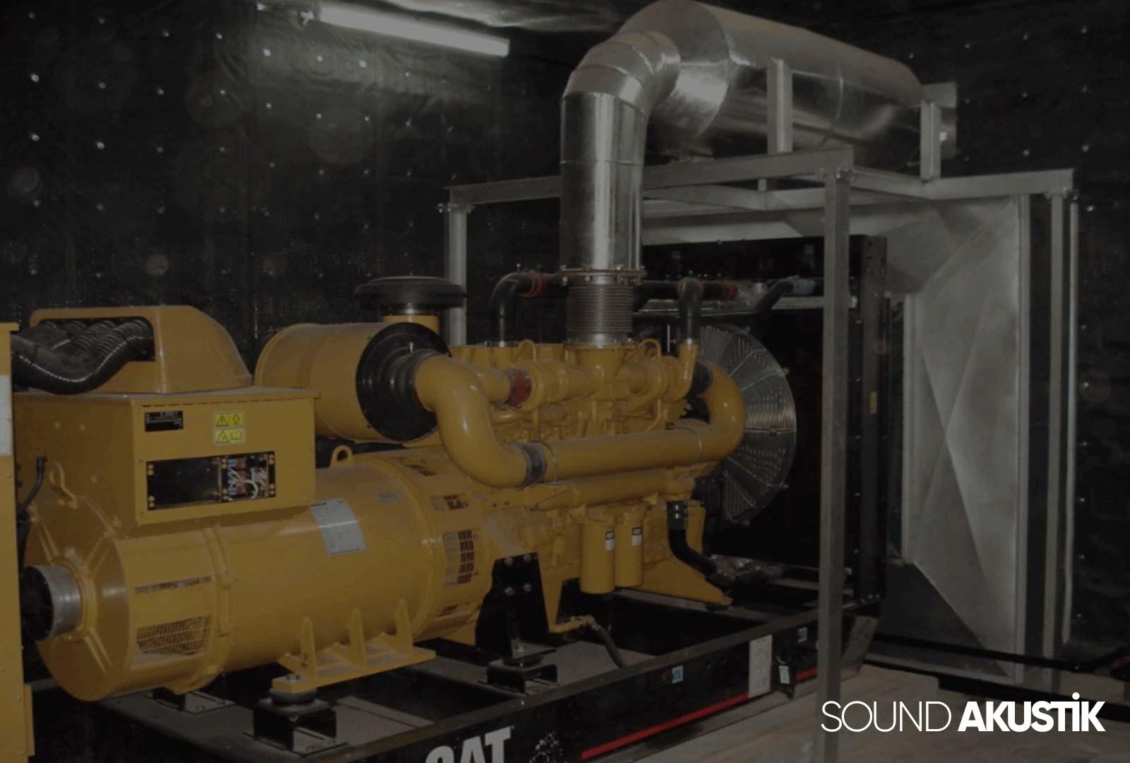 jeneratör ses izolasyonu